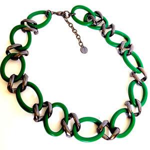 Retro 1970s Chain Necklace Choker